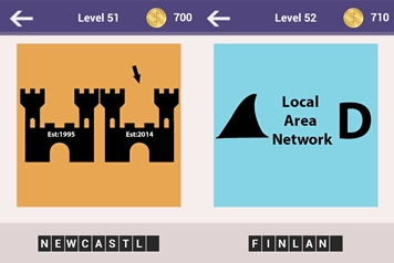 Fun Ways To Thinks Places Level 51 and 52 Answers