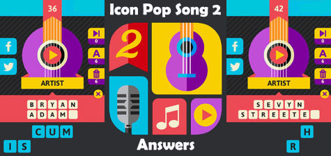 Icon Pop Song 2 Level 4 Answers