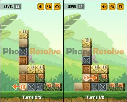 Swap The Box Jungle Level 13 Walkthrough
