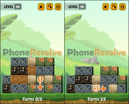 Swap The Box Jungle Level 14 Walkthrough