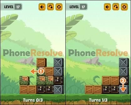 Swap The Box Jungle Level 17 Walkthrough