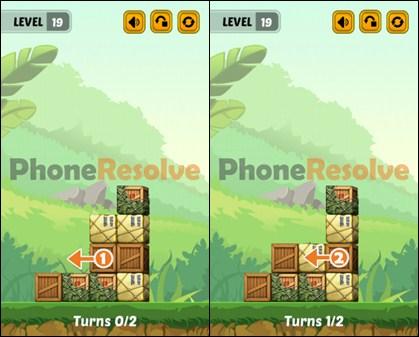 Swap The Box Jungle Level 19 Walkthrough