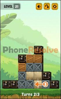 Swap The Box Jungle Level 21-2