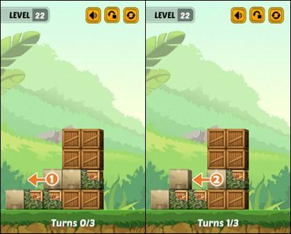 Swap The Box Jungle Level 22-1