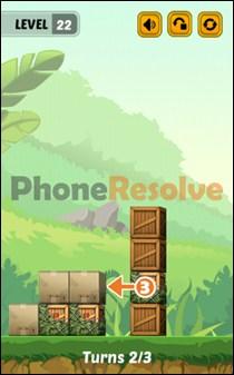 Swap The Box Jungle Level 22-2 Walkthrough