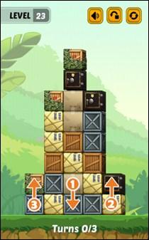 Swap The Box Jungle Level 23 Walkthrough