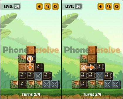 Swap The Box Jungle Level 24-2