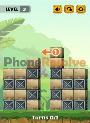 Swap The Box Jungle Level 3