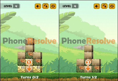 Swap The Box Jungle Level 4