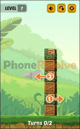 Swap The Box Jungle Level 7