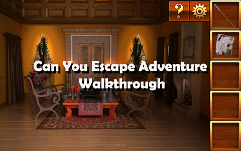 Can You Escape Adventure Walkthrough Level 1