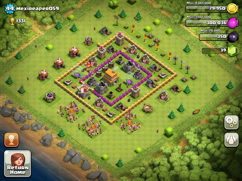 Best Clash of Clans Defense Strategy Town Hall Level 6 - 3