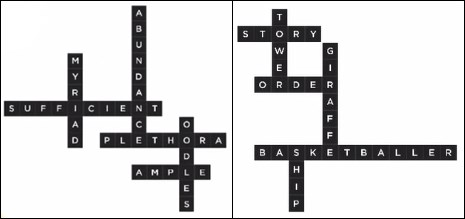 Bonza Word Puzzle Pack 1 Level 13 and 14