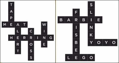Bonza Word Puzzle Pack 1 Level 15 and 16