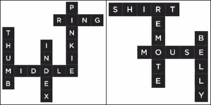 Bonza Word Puzzle Pack 1 Level 5 and 6
