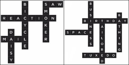 Bonza Word Puzzle Pack 1 Level 7 and 8