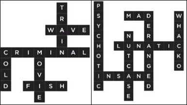 Bonza Word Puzzle Pack 2 Level 7 and 8