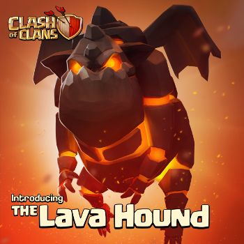 Clash of Clans Update Lava Hound and New Upgrades
