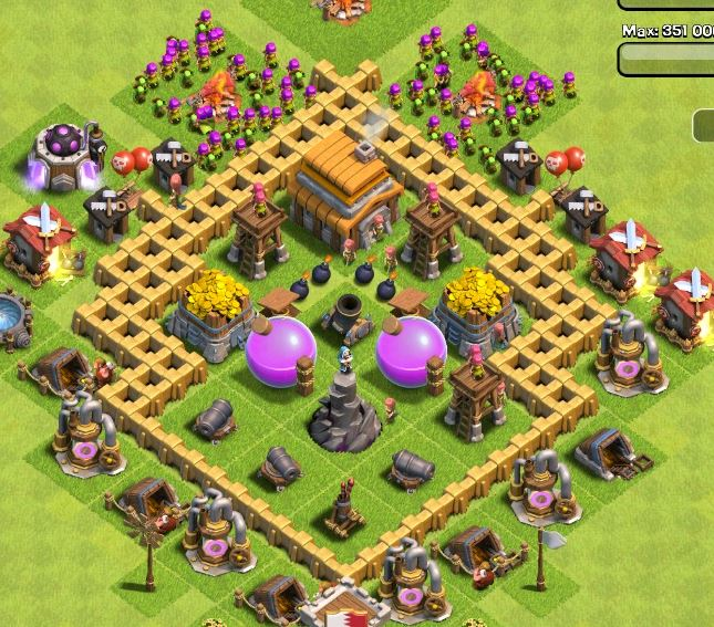 Best Clash Of Clans Town Hall Level 5 Defense Strategy