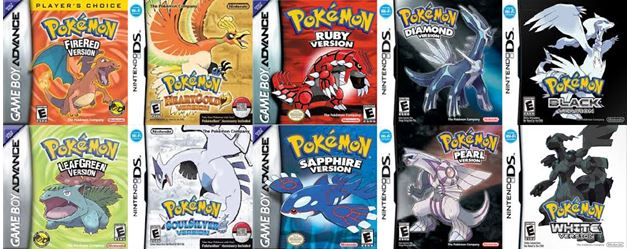 free to play old pokemon ds games