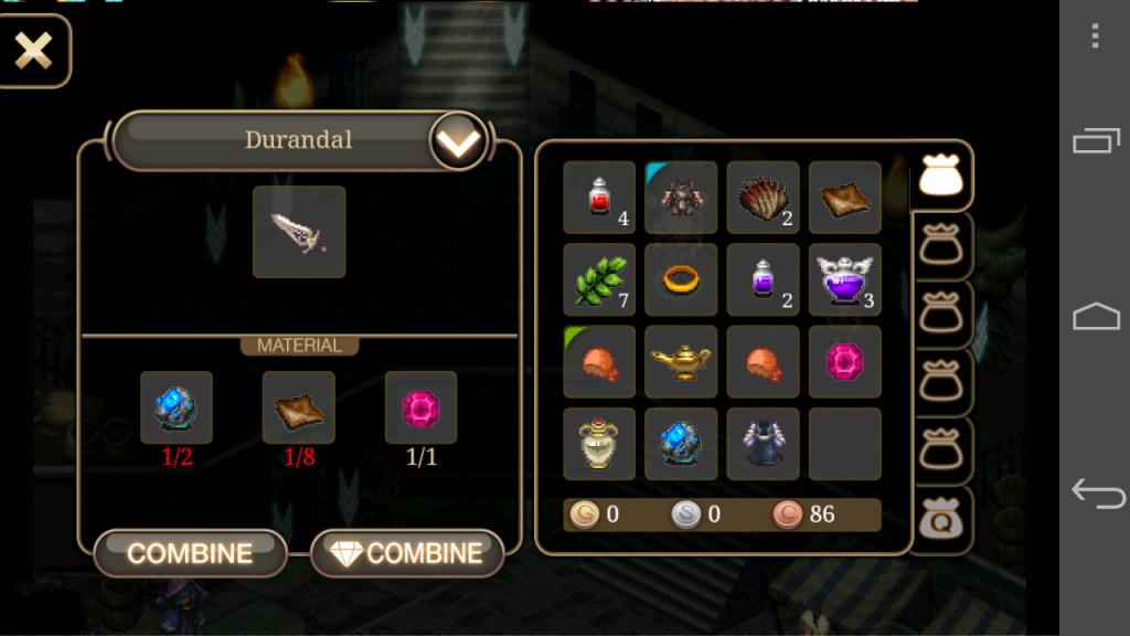 Inotia 4 Durandal