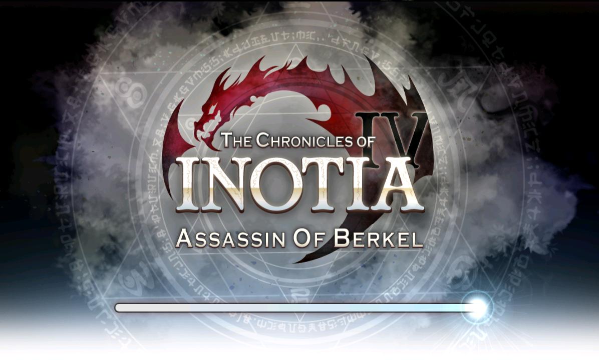 Inotia 4 Loading Screen