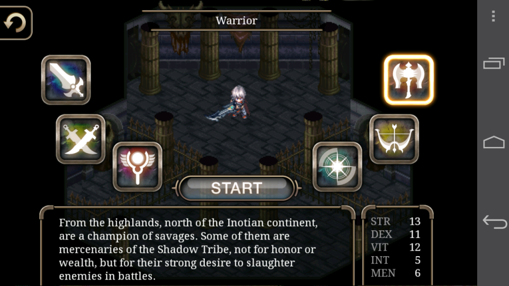 Inotia 4 Warrior