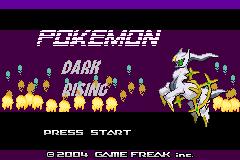 Pokemon Dark Rising (Hack)