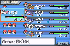 Pokemon Light Platinum Legendaries Complete
