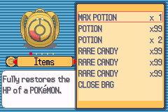 Pokemon Light Platinum  Rare Candy