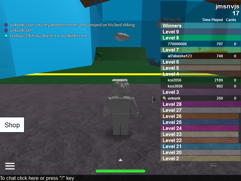 Roblox Speed Run