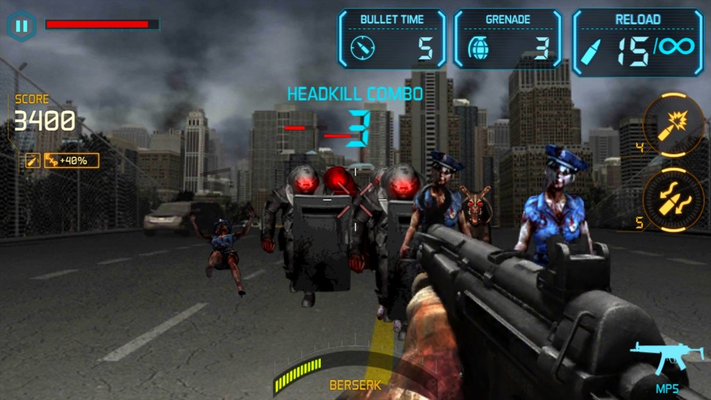 Gun Zombie Hellgate (PNIX Games)