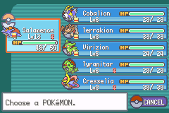Pokemon Dark Rising 2 Team