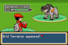 Pokemon Dark Rising 2 Terrakion