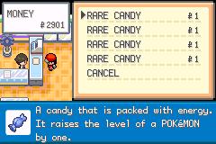 Pokemon Dark Rising Rare Candies