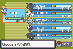 Pokemon Resolute powerful team
