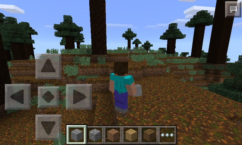 MCPE without skins