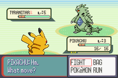 Pokemon Rescue Rangers tyranitar