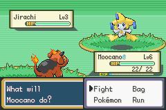 Pokemon Sienna jirachi