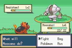 Pokemon Sienna registeel