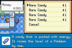 PokemonSienna cheap shopping rare candies
