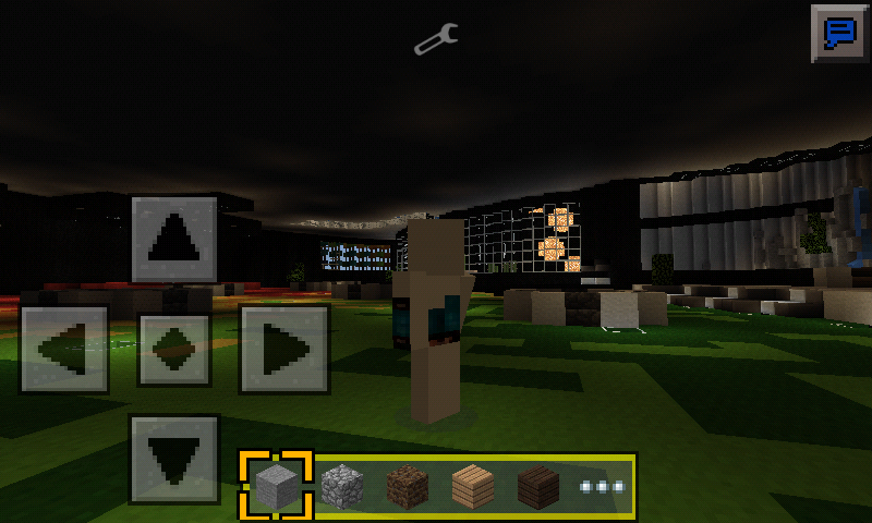 third person view Minecraft PE