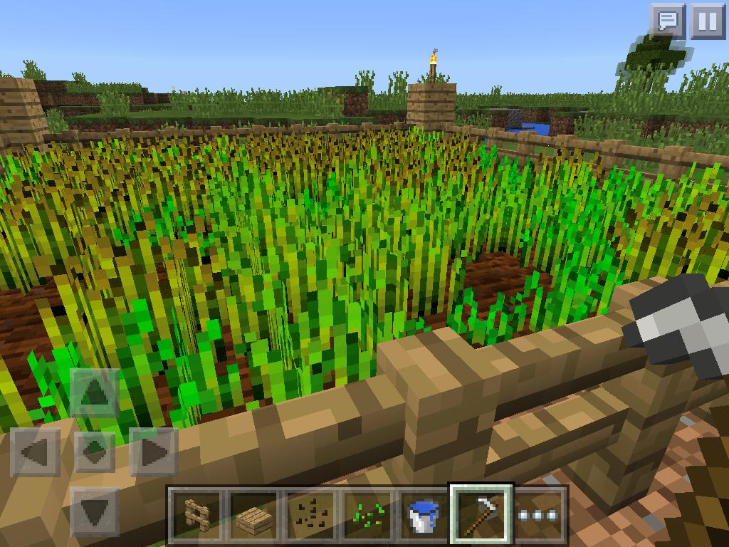 MCPE farm