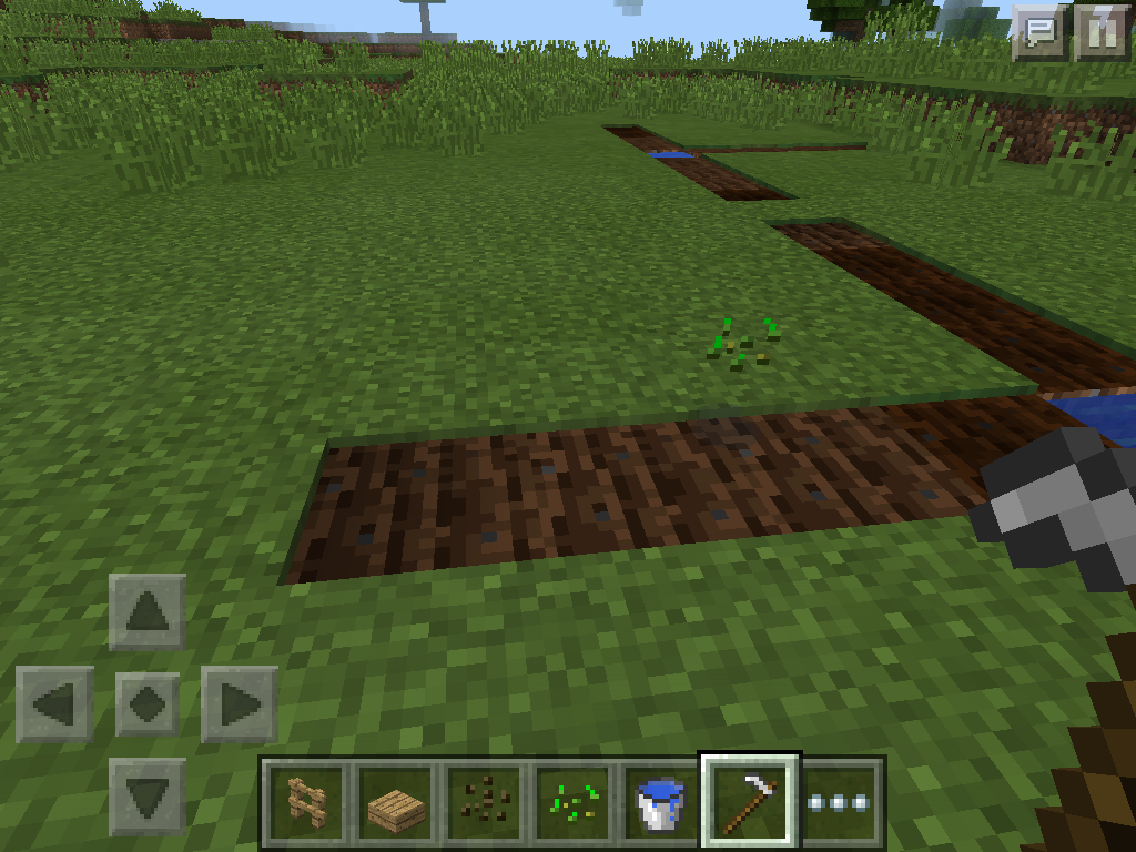 MCPE farming - wheat