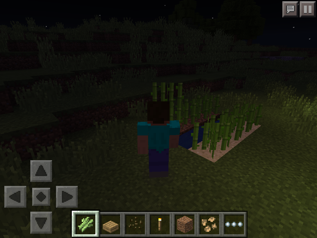 MCPE farming - finding sugarcane