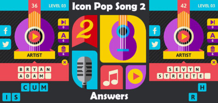 Icon Pop Song 2 Level 2 Answers