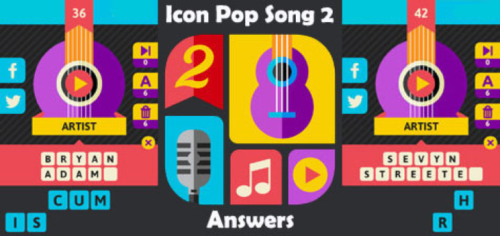 Icon Pop Song 2 Level 5 Answers