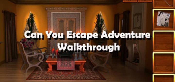 Can You Escape Adventure Walkthrough Level 1