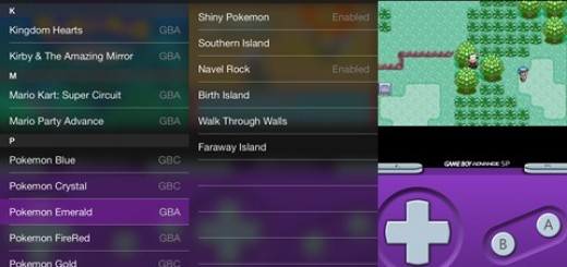 GBA4iOS 2.0 Pokemon Emerald Cheats